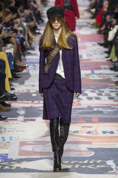 Christian Dior Autumn Winter 2018 Ready-To-Wear show report ... 3d85e48cead3