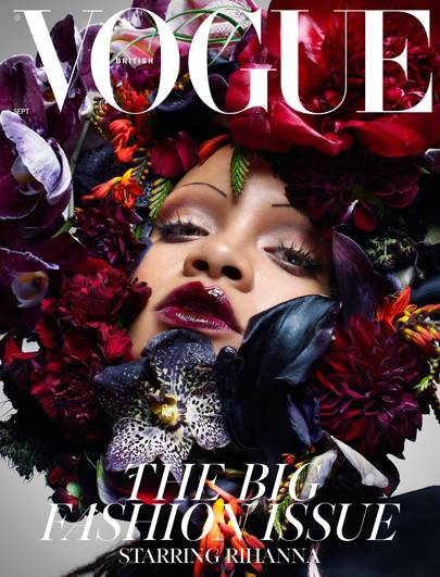 Image result for rihanna for british vogue september 2018