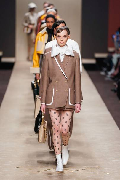 a8669e97d8 Karl Lagerfeld s Final Fendi Collection Was Filled With His Personal Style  Tics