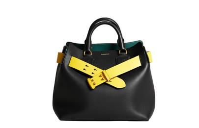 Burberry Belt leather bag