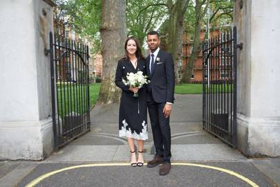 Cheap What Does A Vogue Bride Wear British With Wedding Dress For Registry Office