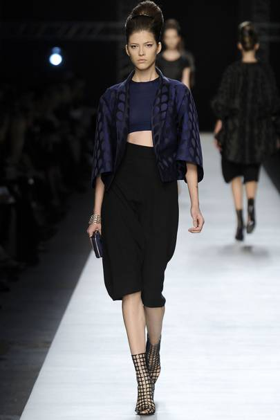 458c9f8b4dbc Yves Saint Laurent Spring Summer 2009 Ready-To-Wear show report ...