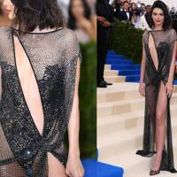 Kendall's No-Fabric Moment