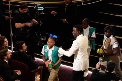Chris Rock & his daughter, Zahra