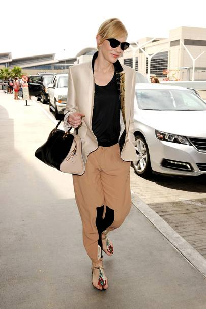 LAX Airport, LA  - July 24 2013