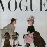 Vogue Cover, September 1945