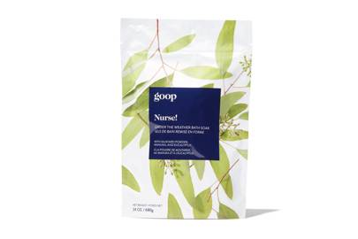 Goop Nurse! Under The Weather Bath Soak