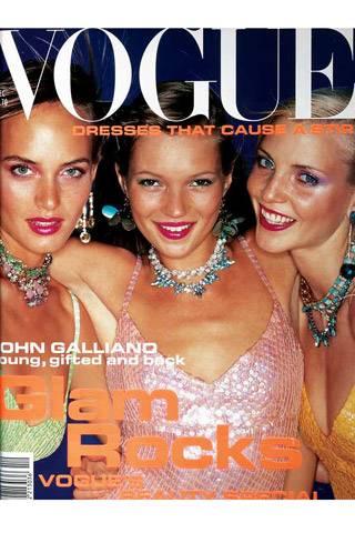 British Vogue, December 1994