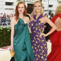 Karen Elson and Poppy Delevingne