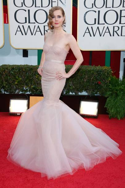 Amy Adams at the 2013 Golden Globes