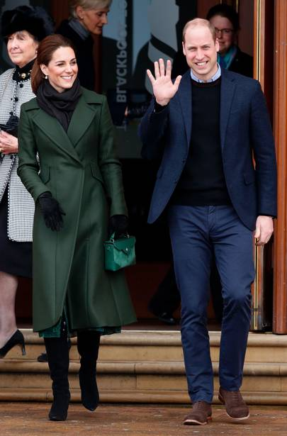 The Duchess Of Cambridge Turns To Handbag Brand Manu Atelier Once Again