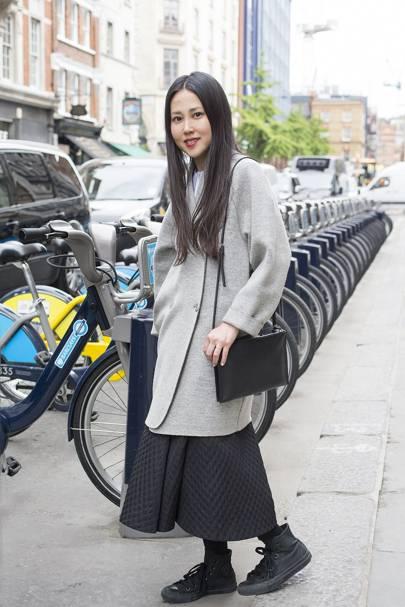 Mitsuki Nakazono, sales associate