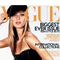 Vogue Cover, September 2001