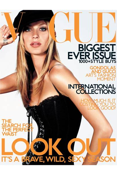 Vogue Cover, September 2001