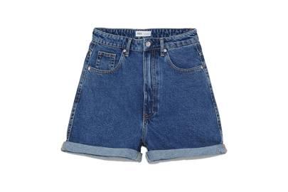 High-waist Bermuda shorts, £19.99