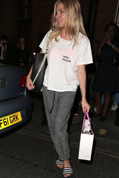 Sienna Miller S Conscious Clothing Run From London S