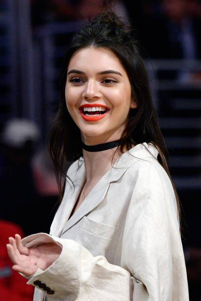 Kendall Jenner is the choker's number one fan.
