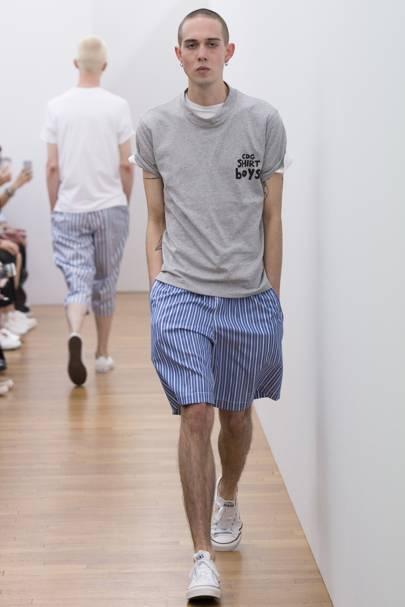 13aa7c773324c9 Comme Des Garcons Shirt Spring Summer 2017 Menswear show report