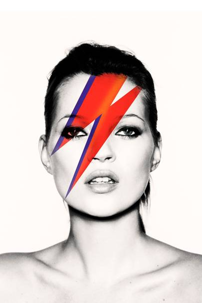 Kate as Aladdin Sane, 2003, Nick Knight