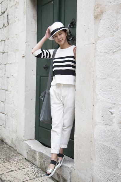 Chae Minji, student