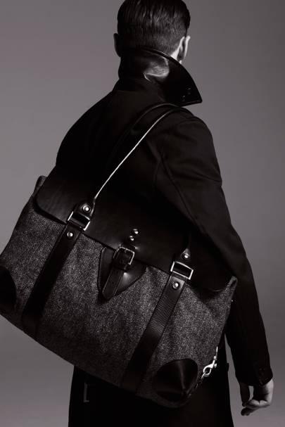 Coat, £299; bag, £199