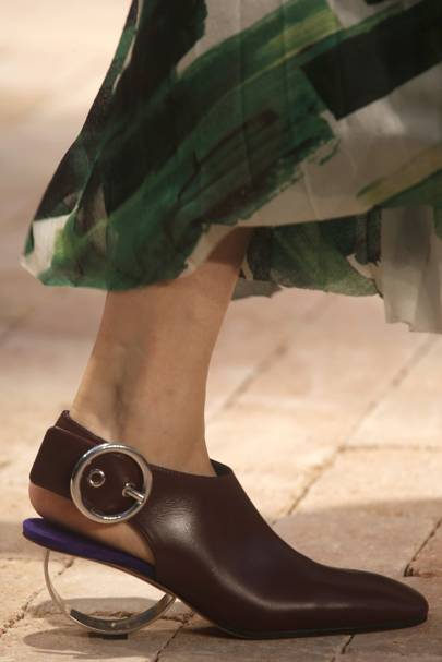 The Sculptural-Heeled Mules