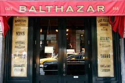 Balthazar in New York