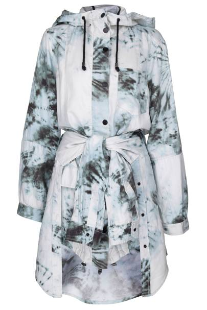 Tie-dye parka jacket, £100