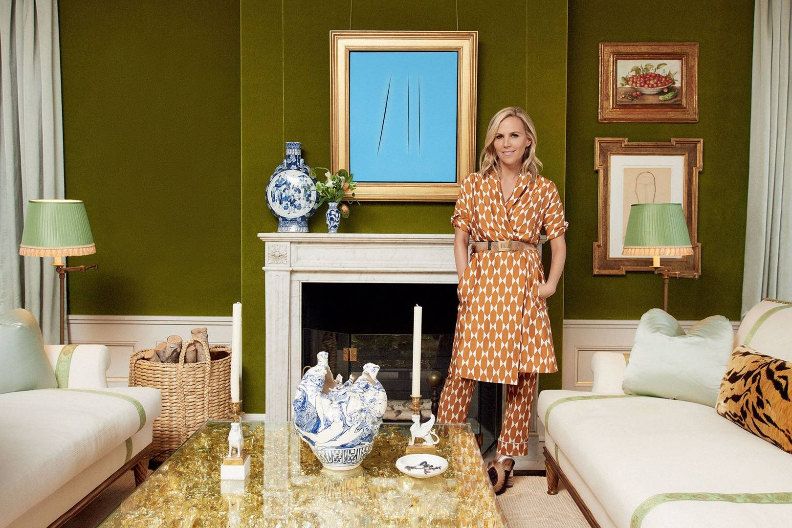 7615e12e190 Inside Tory Burch s New York Home