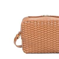 & Other Stories basket-weave bag