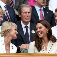 Wimbledon 2012 with Tim Henman's parents