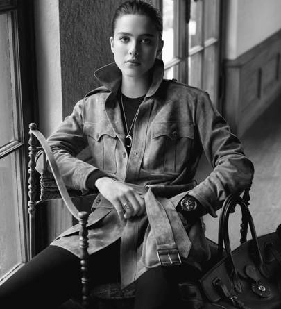The RL Safari Jacket, worn by Margaret Qualley