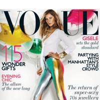 Vogue cover, December 2011