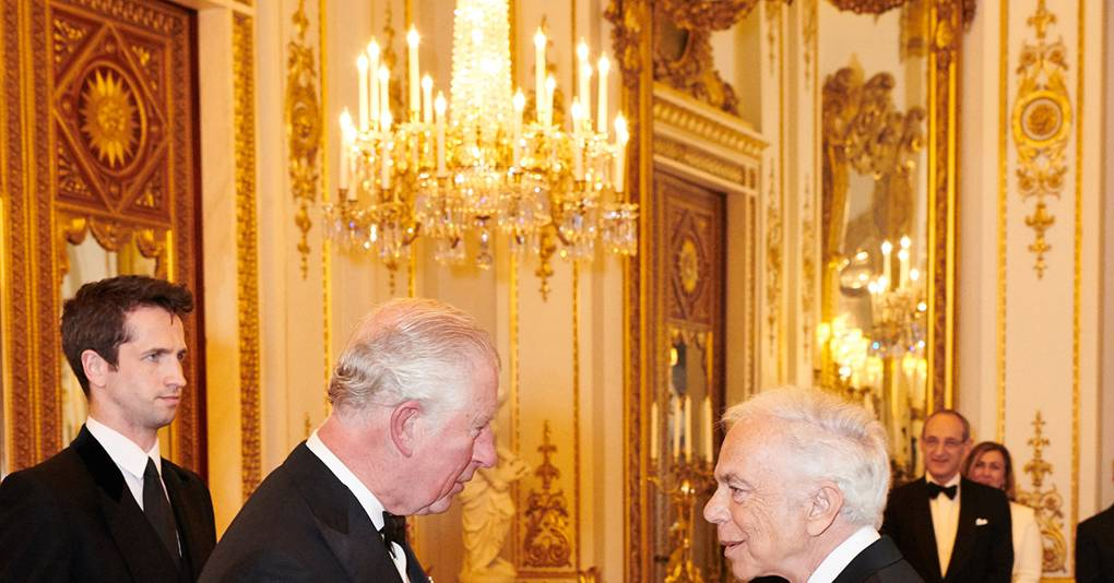 Sir Ralph Lauren KBE Has Been Awarded Her Majesty's Highest Honour