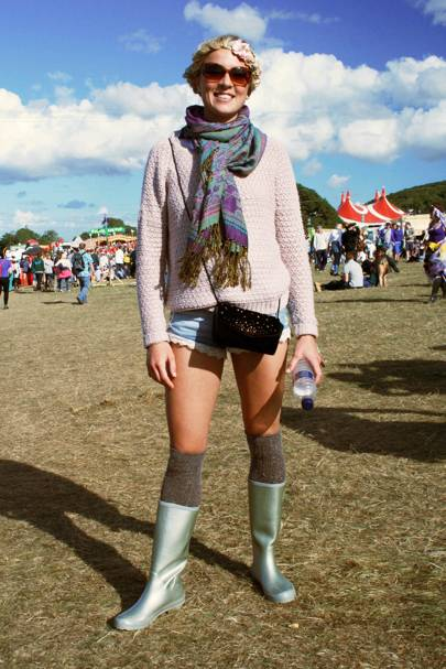 Hannah West, student