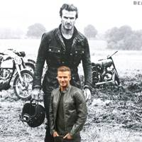 Belstaff David Beckham by Peter Lindbergh exhibition opening – September 9 2014