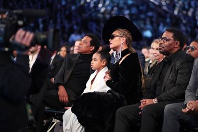 Blue Ivy Shushes Her Parents