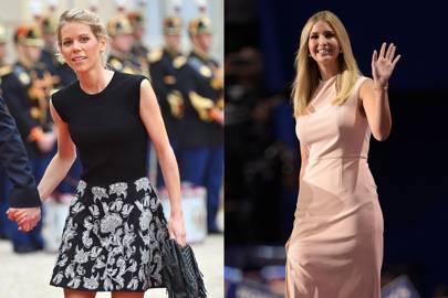 Tiphaine Auzière and Ivanka Trump
