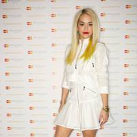 Rita Ora Mastercard Priceless Gig, London - May 23 2013