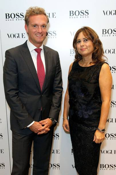 Hugo Boss party - October 10 2013