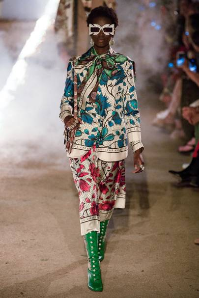 3754fb9c8f0 How Antoinette Poisson Came To Create Textiles For Gucci s Resort Collection