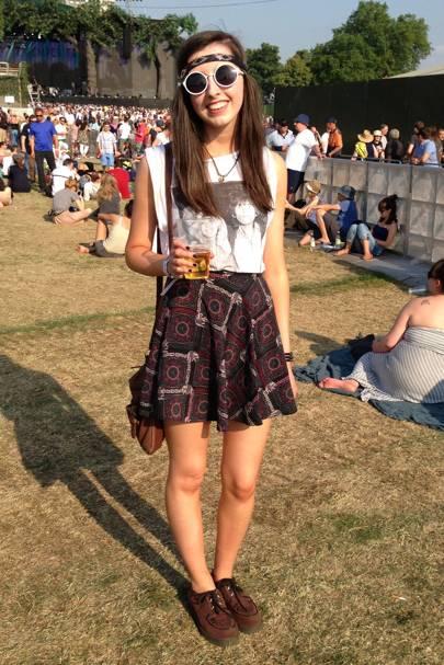 Emma Welsh, student