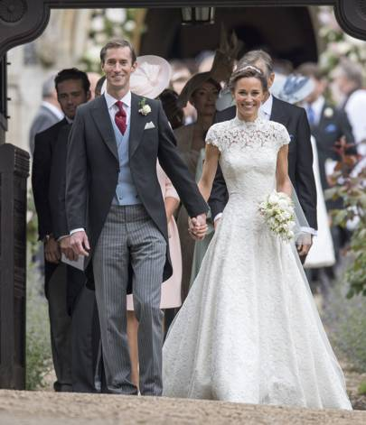 HE also attended Pippa Middleton's wedding!