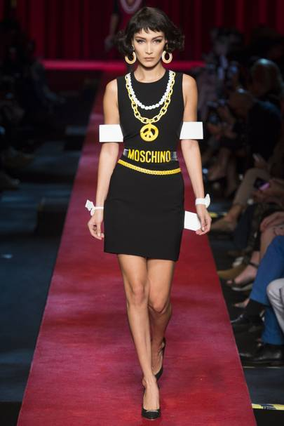 acef0679818d Moschino Spring/Summer 2017 Ready-To-Wear show report | British Vogue
