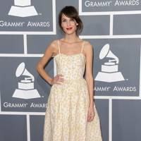 An A-line dress