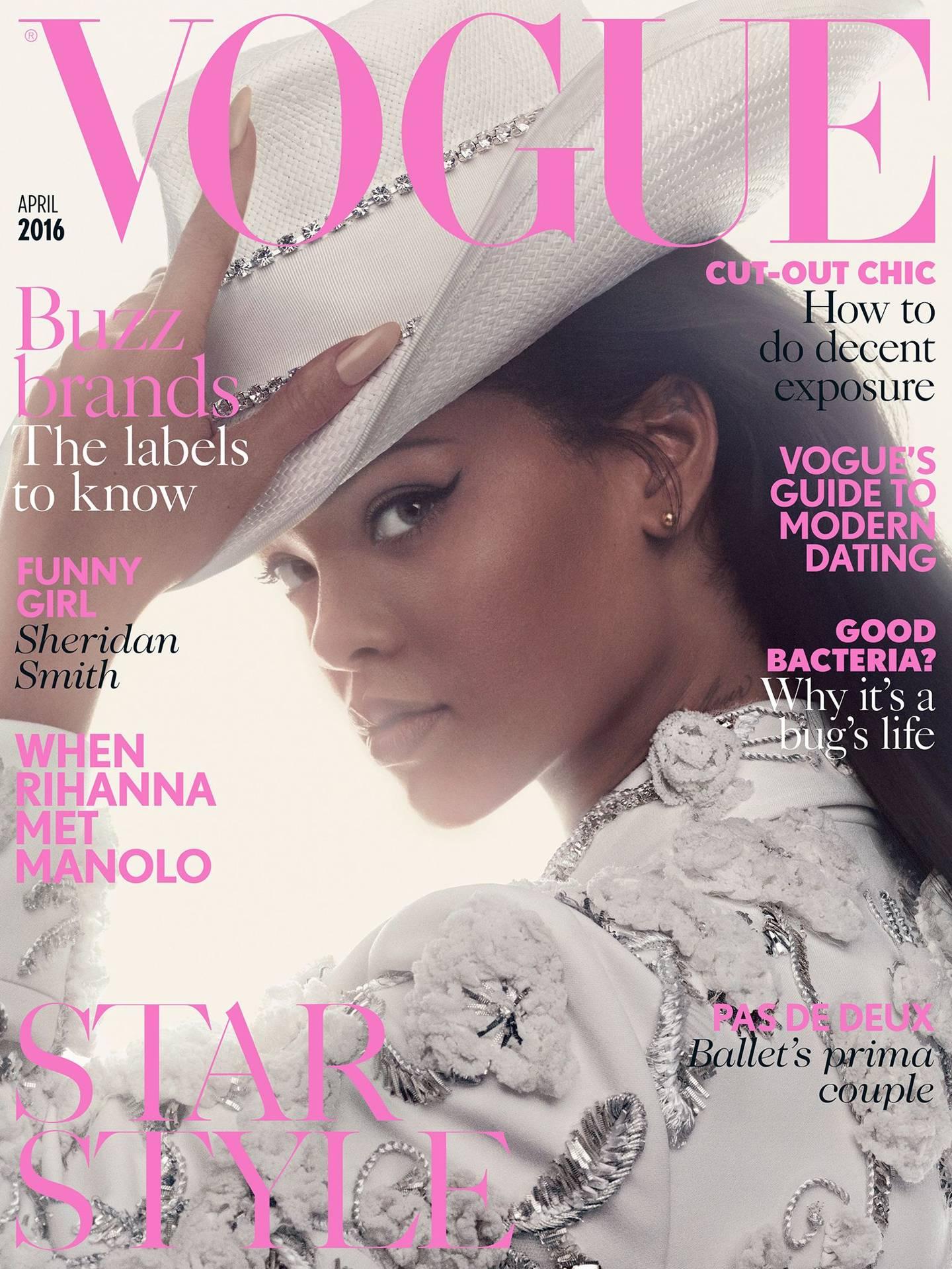 Vogue Meets Rihanna And Manolo Blahnik   British Vogue 489e0c7c516