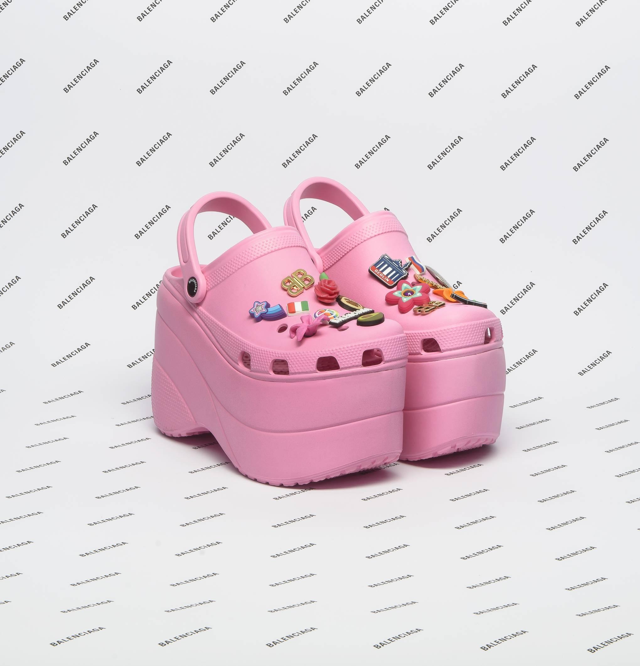 b8445bc7d Would You Wear The Balenciaga Crocs