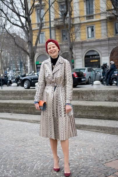 Elise Nalin, stylist