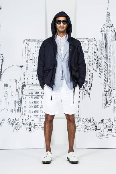 2017 Fashion Official Store Mens Swear TOUI White ldc 28698