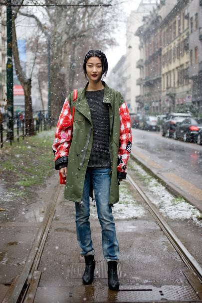 Ji Hye Park, model